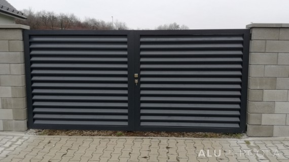 Aluminiumtor NOVA - Prag, 2016