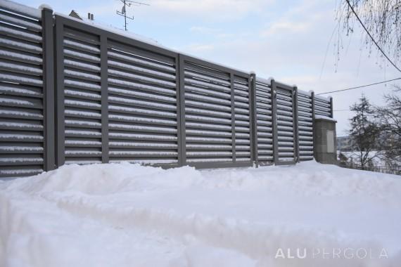 Aluminiumzaun NOVA - Zlín, 2016