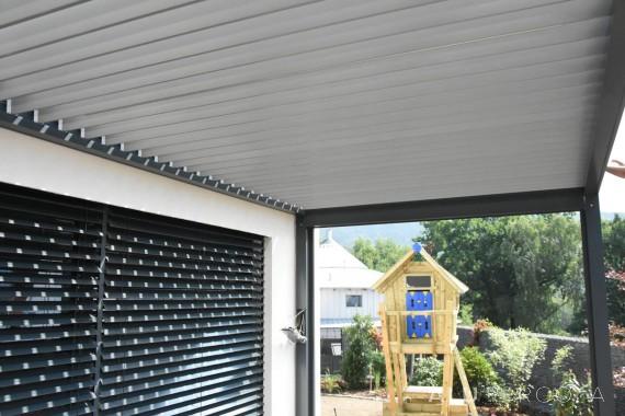 Aluminiumpergola mit verstellbarem Dach - Liberec, 2016