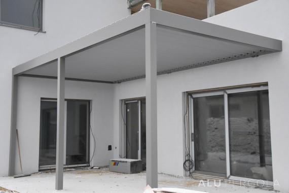 Aluminiumpergola mit beweglichem Dach PLACEO – Žilina, 2016