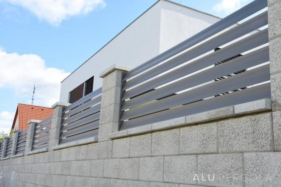 Aluminiumzaun für ein ganzes Leben Nova - Stupava, 2017