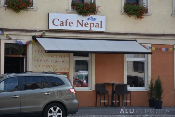 MARKISE CASABOX FÜR CAFÉ NEPÁL - BRATISLAVA, 2017