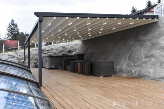 Pergolen mit verschiebbarem Dach EVA – Terchová 2017