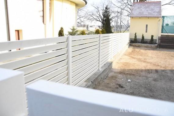 Lamellenzäune aus Aluminium TURF - Veselí nad Moravou 2016