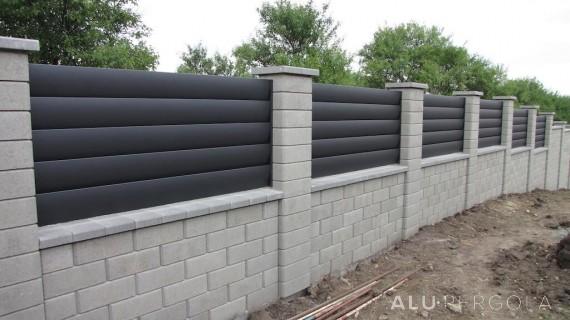Moderne Aluminiumzaunsysteme AERO - Hlohovec 2017
