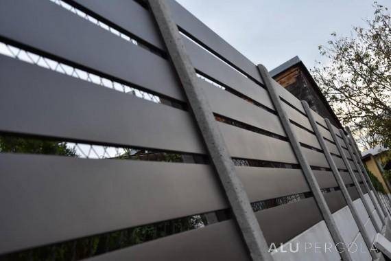Zaunteile aus Aluminium RAND - Kozojídky 2017