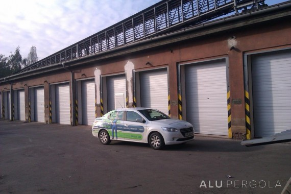 Industriesektionstor - Třinec Stahlwerk, 2014