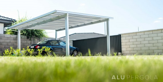 ALU-CARPORT FÜR 2 AUTOS TF SMART CARPORT, SENEC